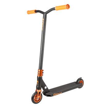 Chilli Pro Reaper Stuntstep Sun Zwart/Oranje
