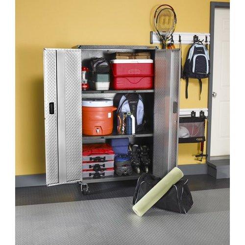 Gladiator® Mobiele Garage-/ Werkplaatskast RTA (168x91x46cm)
