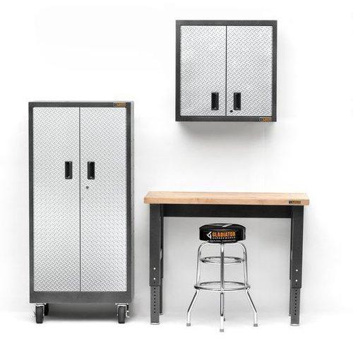 Gladiator® Korte Werkbank met verstelbare hoogte