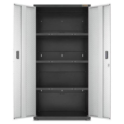 Gladiator® Jumbo Garagekast met 3 leggers | RTA (183x91x61cm)
