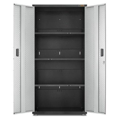 Gladiator® Brede Stalen Garagekast met 3 leggers | RTA (183x91x46cm)