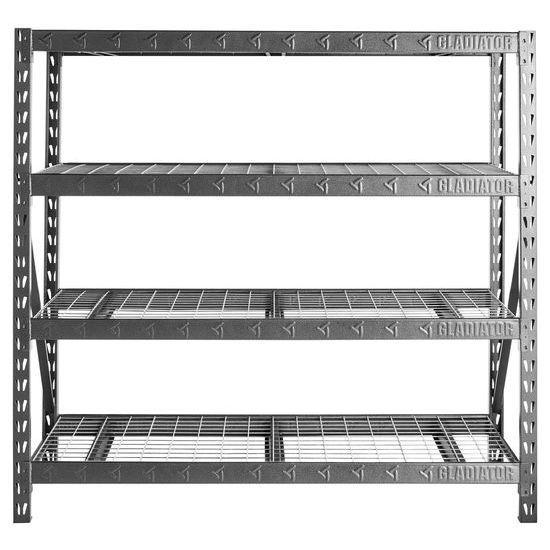 Stellingen Voor Garage.Gladiator Garage Stelling Zwaargewicht 195x183x61cm