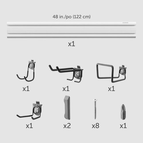 Gladiator® GearTrack® Pack voor tuingereedschap opbergen