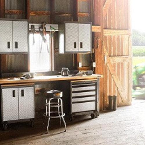 Lifestyle garage interieur met een exclusief design