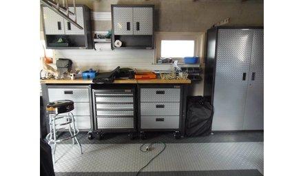 Complete garage inrichting