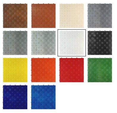 SwissDeck Setje Samples van DiamondDeck Garagevloertegels
