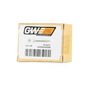 GWE Witte Schroeven (torx)