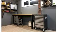 Mancave en werkplaats