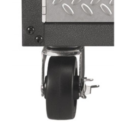 Gladiator® Het garage opbergsysteem om uw fiets, -gereedschap en -toebehoren op te bergen.