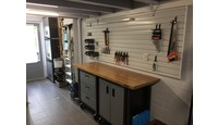Smalle garage inrichten