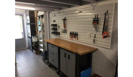 Smalle garage