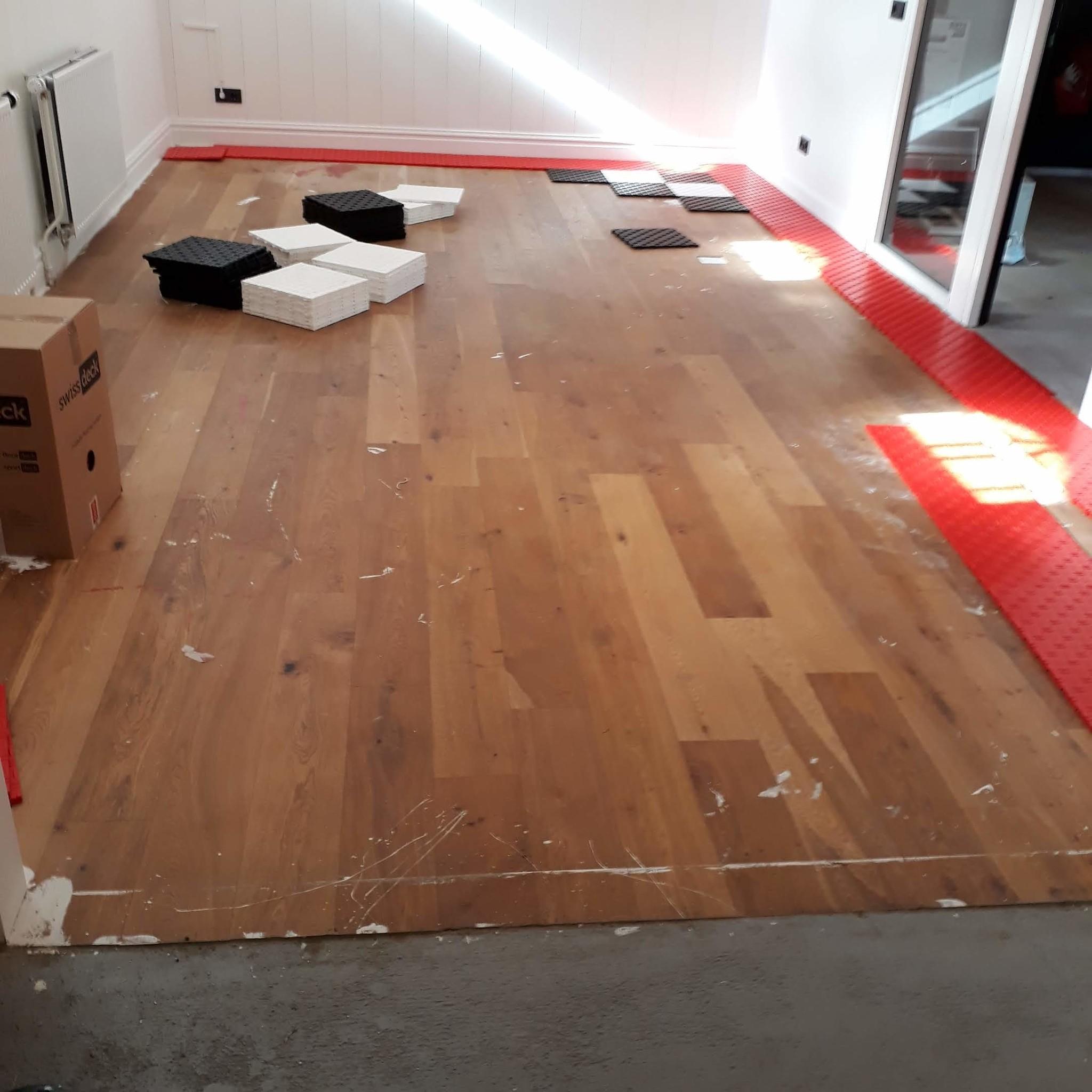 Garagevloer voor