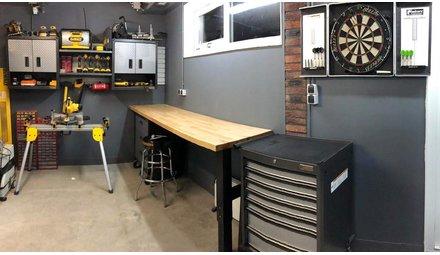 Compleet ingerichte garages