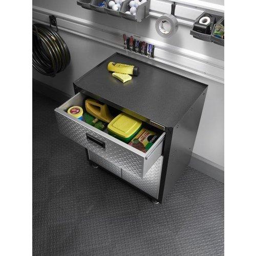 Gladiator® Werkbank Onderkast met 1 lade en 2 deuren | RTA (79x71x46cm)