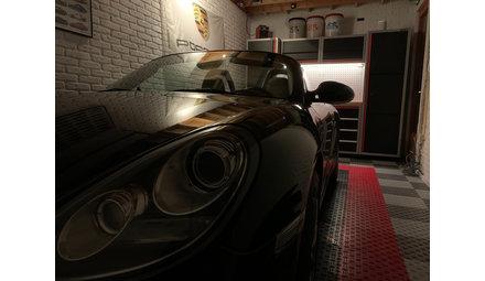 Porsche Garagevloer