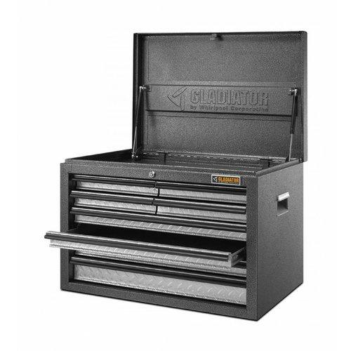 Gladiator® Al uw gereedschap opbergen in deze ruime koffer