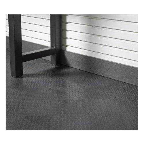 Gladiator® GearWall® Hoge Grijze Plint (15  x 244 cm)