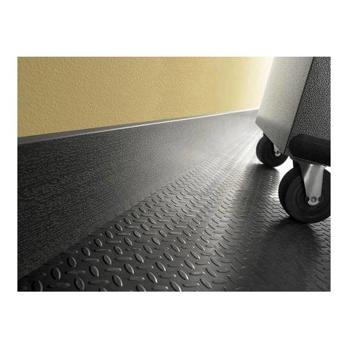 Gladiator® GearWall® Hoge Grijze Plint (15cm  x 244cm)