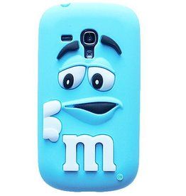Samsung S3 Mini M&M Blauw