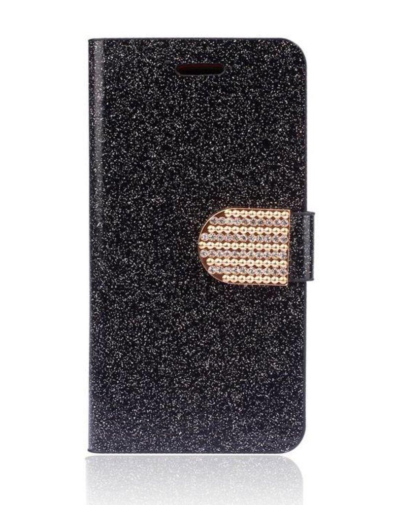 LG Optimus G3 Wallet hoesje Elegant Zwart
