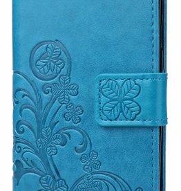 Samsung Galaxy A5 2017  Blauw Wallet