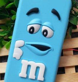 iPhone 7 / 8 M&M Blauw