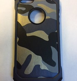 iphone SE Army  camouflage Grijs