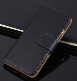 Iphone 6  Wallet  Leer Zwart