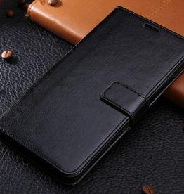 Samsung Galaxy A5 2017 Pu Leer Zwart Wallet