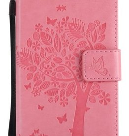 Samsung Galaxy J5 2017 Pu Leer Rose Wallet