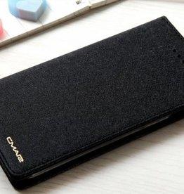 iPhone 7 / 8 Wallet  Leer Zwart
