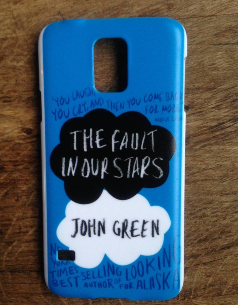 Samsung Galaxy S5 hoesje hard Case The Fault in our Stars 3