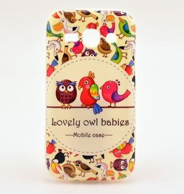 Samsung galaxy Ace 3 S7272 Lovely Owl Babies