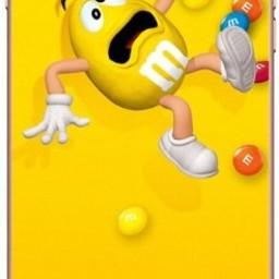 iPhone X - M&M Geel