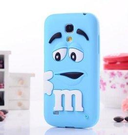 Samsung S4 Mini M&M Blauw