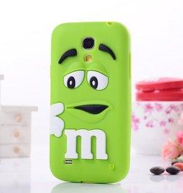 Samsung S4 Mini M&M Groen