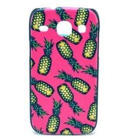 Samsung Galaxy I8260/62 hard siliconen hoesje Ananas 1