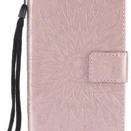Samsung Galaxy  S6 PU Leer Wallet