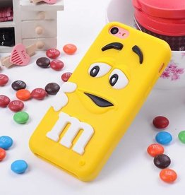 Iphone 5 C M&M Geel
