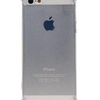 STPUI500 Schokbestendig transparant TPU hoesje voor iPhone 5