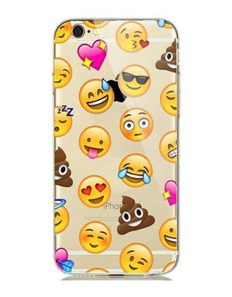 iPhone 6/6s  Soft Case  hoesje Emoji