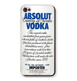 Iphone 4 (S) Absolute Vodka Blauw