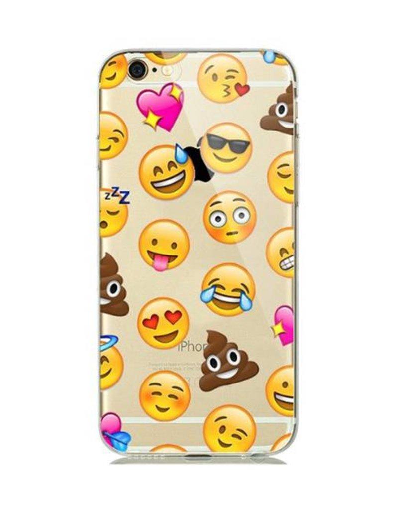 iPhone 7 / 8 Emoji   Soft Case  hoesje Emoji