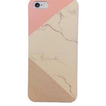 Marmer design hardcase hoesje voor de iPhone 6/ 6s