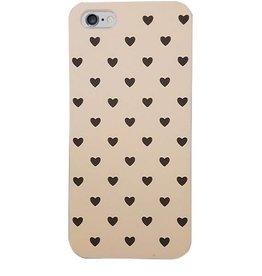 iPhone 5 / 5s zwarte hartjes