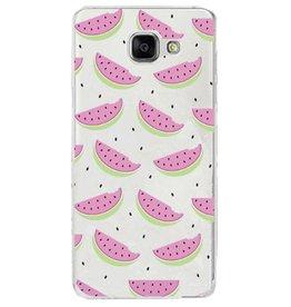 Samsung Galaxy A3 (2016) TPU Watermeloen Hoesje