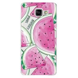 Samsung Galaxy A3 (2015) TPU hoesje Meloen Sweet Pink