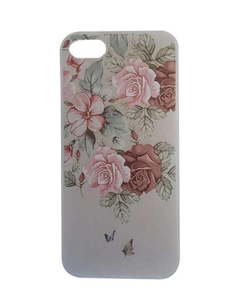 iPhone 5/5s Bloemen Hoesje