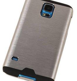 Lichte Aluminium Hardcase voor Galaxy A3 Zilver