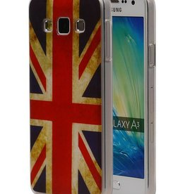 Britse Vlag TPU Hoesje voor Galaxy A3 UK